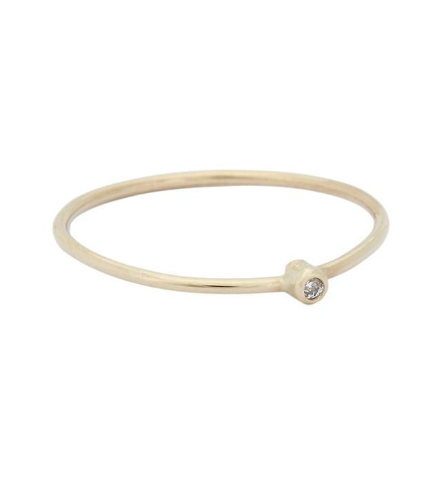 Jennifer Meyer Gemstone Thin Ring
