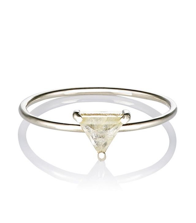 Grace Lee Trillion Diamond Ring