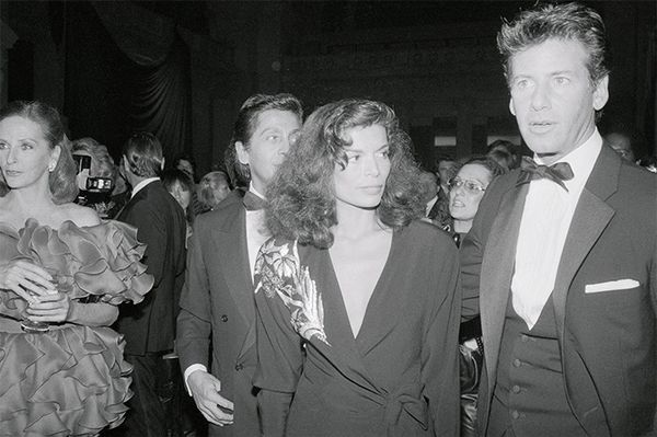 Not many fashion designers can say they partied with Bianca Jagger—Calvin Klein can.Want to shop similar classic looks? Head to Net-a-porter.com.