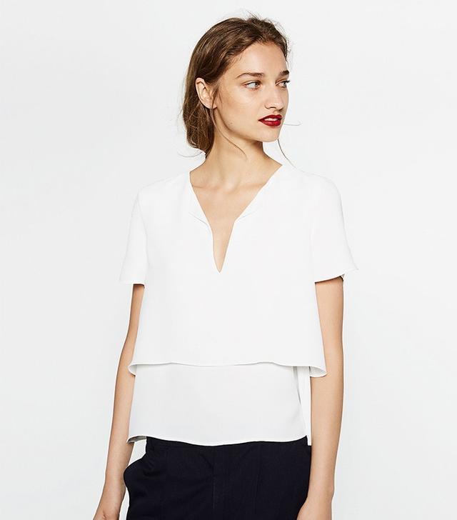 Zara Layered Top