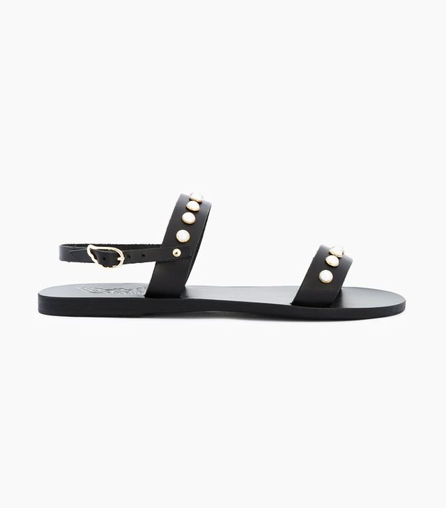 What Not To Wear When It's Boiling: Clio Pearls Sandals