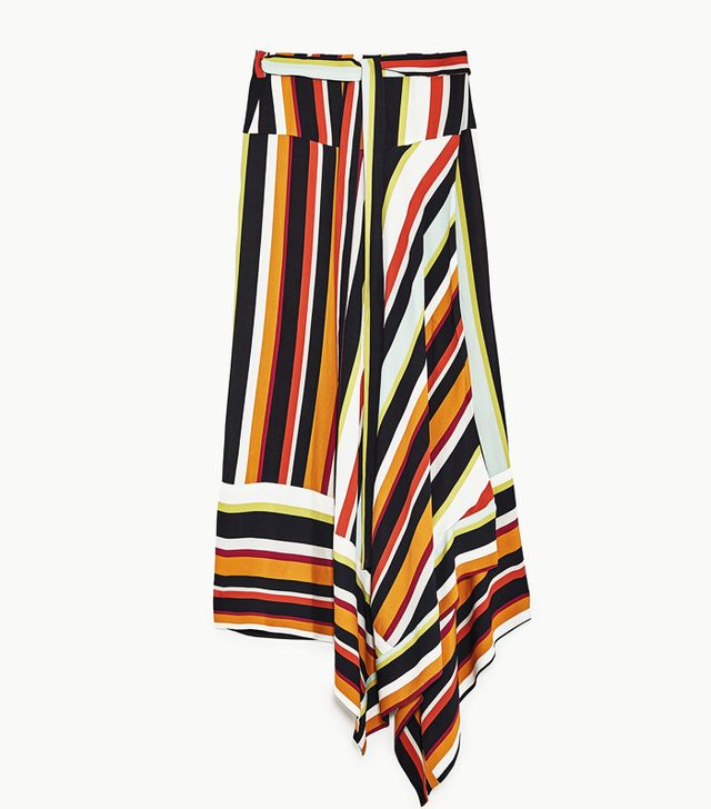 What Not To Wear When It's Boiling Hot: Striped Wrap Skirt