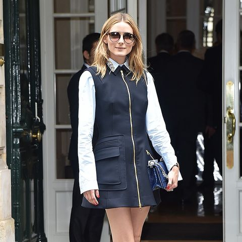 The 6 Types of Flats Olivia Palermo Keeps in Her Closet