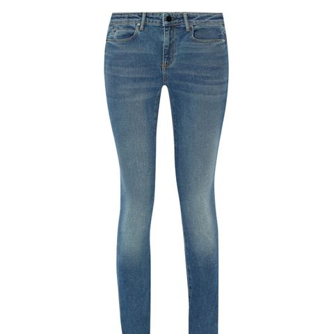 001 High-Rise Skinny Jeans
