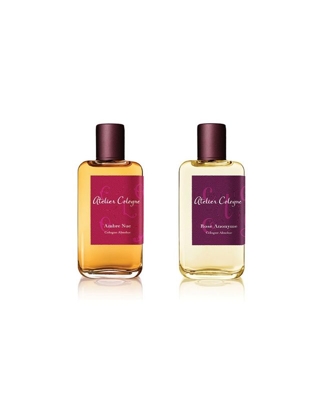 Atelier Cologne Ambre Nue and Rose Anonyme