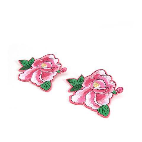 Pack of 2 Rose Badges