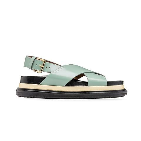 Criss-Cross Fussbett Sandals