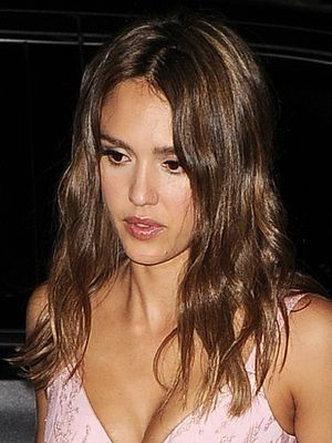 Jessica Alba's Date-Night Outfit Seems Simple—Until You See Her Bag