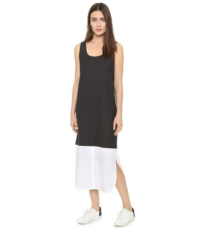 DKNY Runway Sleeveless Dress