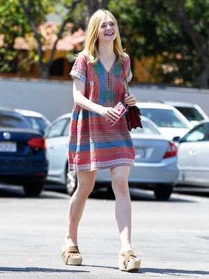 The Summer Dress Style Elle Fanning Loves