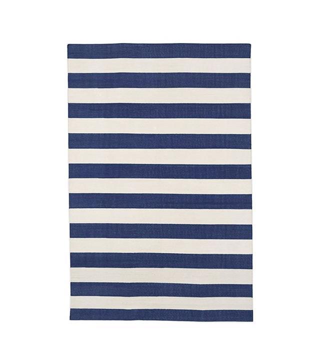 Madeline Weinrib Blue Versa Cotton Carpet