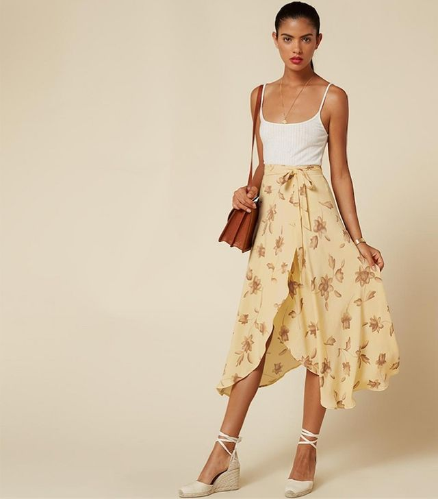 Reformation Newman Skirt
