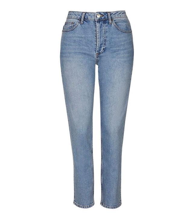 Topshop Tall Straight Leg Jeans