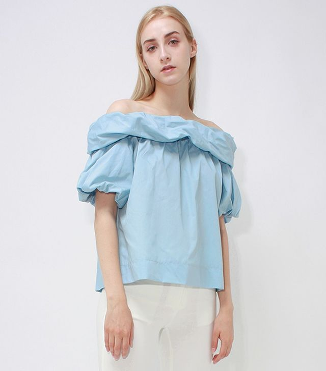 Loeil Napoli Off-Shoulder Top
