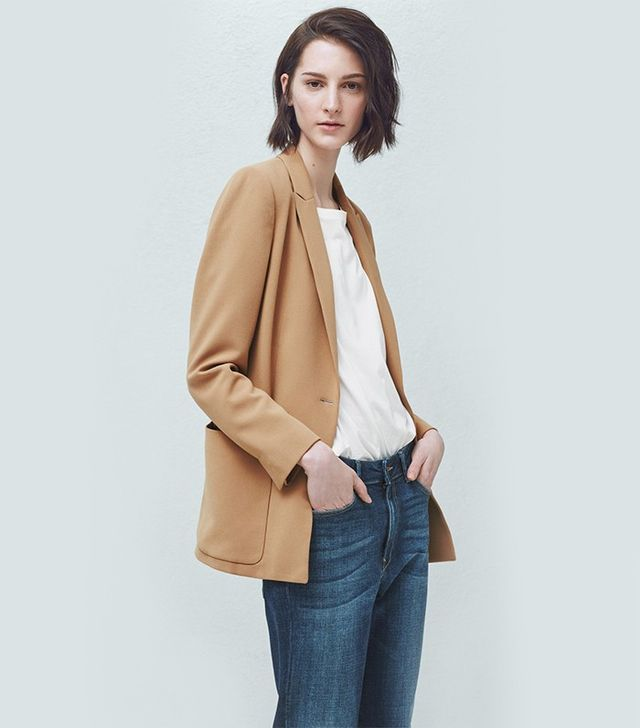 Mango Patch-Pocket Blazer