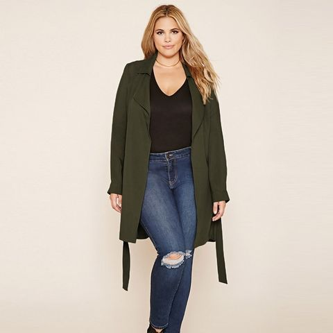 Plus Size Wrap Jacket
