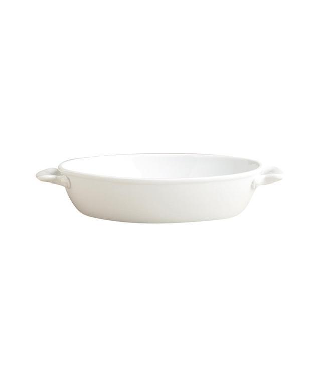 oval baking ceramic