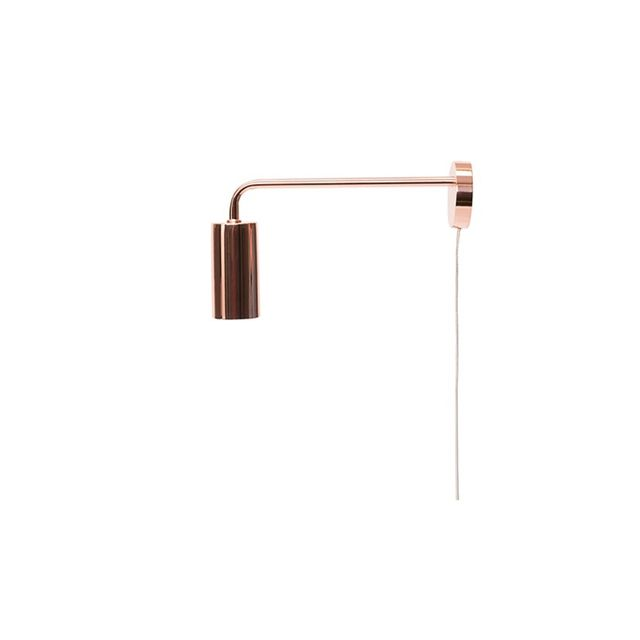 Freedom Metro Wall Light in Copper Colour