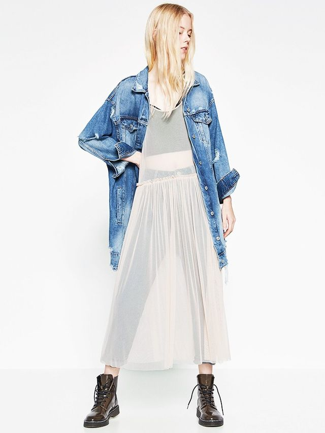 The Quirky Layering Trend Zara S Really Behind