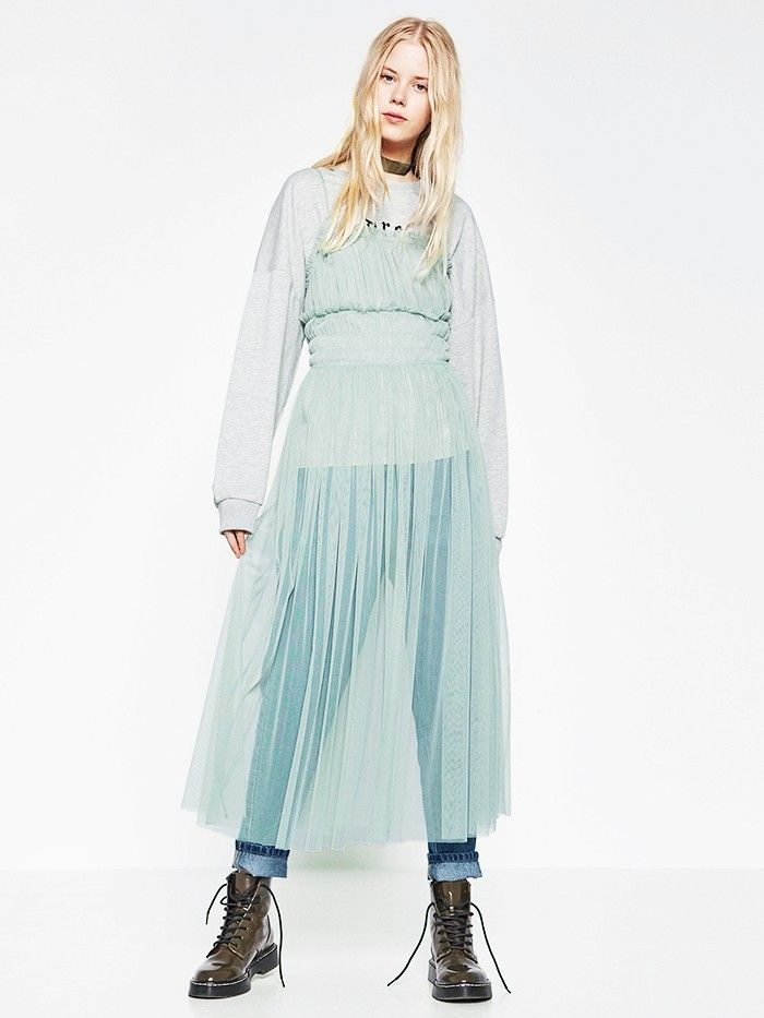 The Quirky Layering Trend Zara S Really Behind Who What