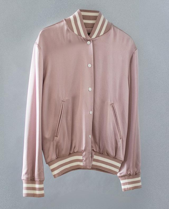 Simone Collection Custom Silk Varsity Jacket