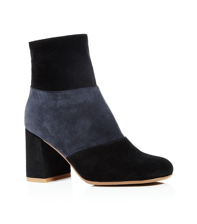 See by Chloé Pendragon Color Block Booties