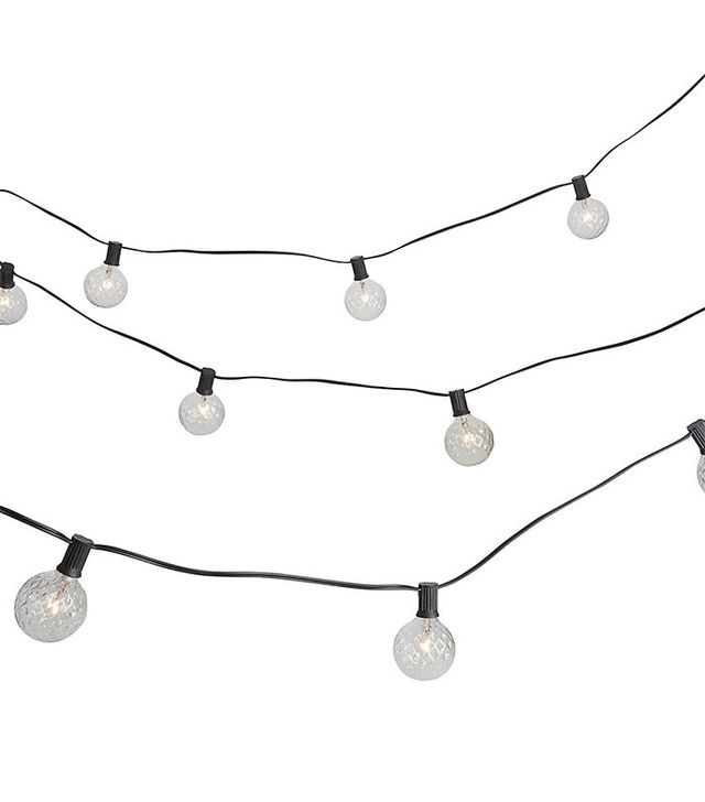 CB2 Cut Glass String Lights
