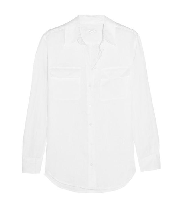 Equipment Signature Linen Shirt