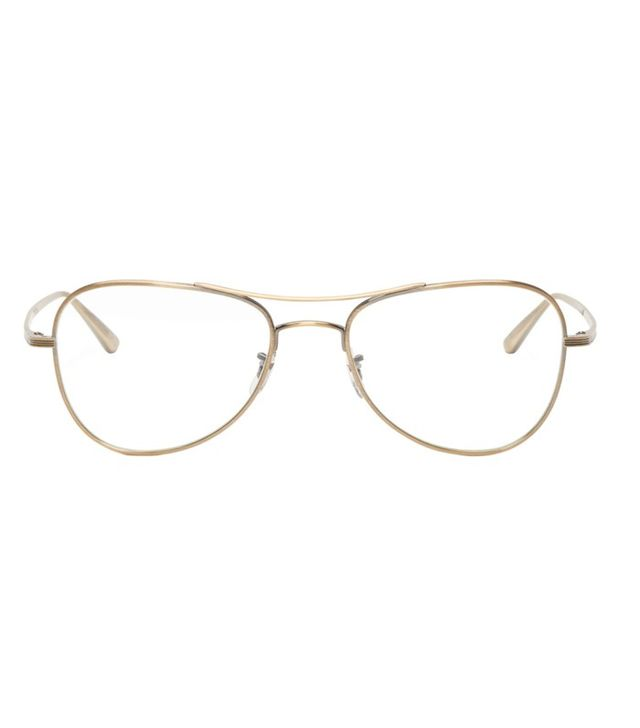 Oliver Peoples x The Row Gold Executive Suite Optical Glasses
