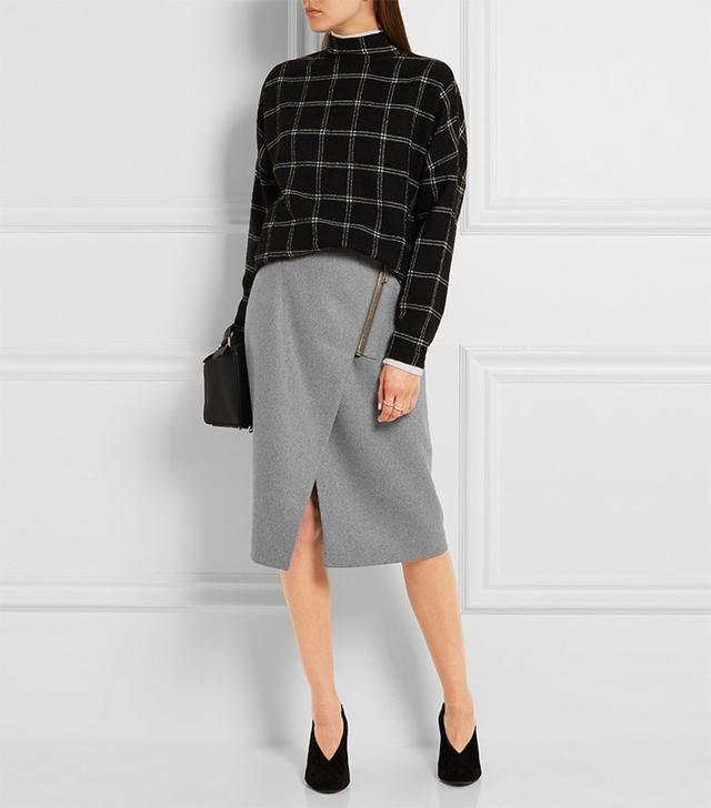 Acne Studios Wrap Effect Skirt