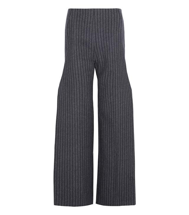 Jacquemus Pinstriped Wide-Leg Pants