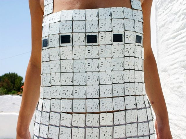 The Solar-Paneled Flapper Dress