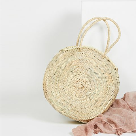 Marrakech Straw Basket by Miklos