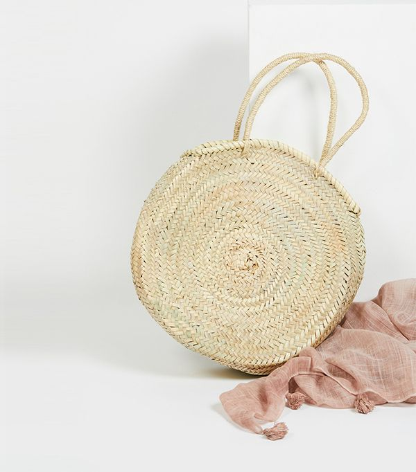Marrakech Straw Basket by Miklos at Free People