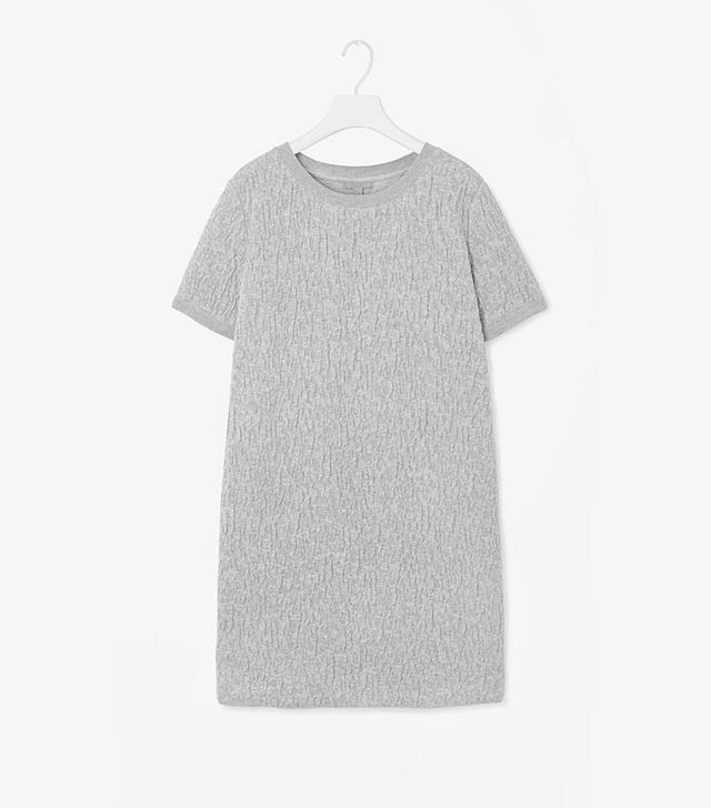 COS Raised Jacquard Dress