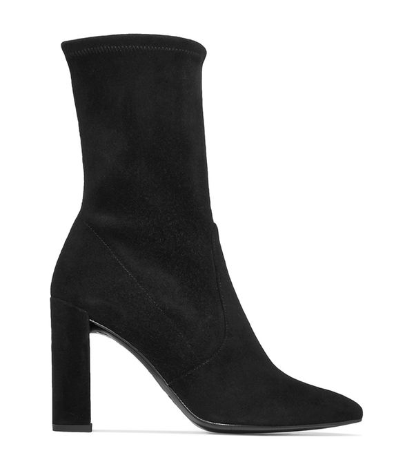 Clinger Suede Ankle Boots