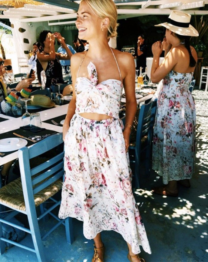 Holiday Dressing: Pandora Sykes in Greece