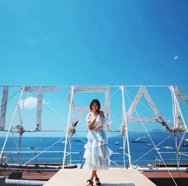 Holiday Dressing: Aimee Song in Cannes
