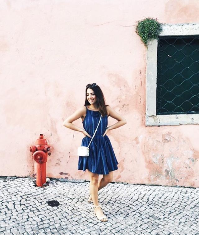 Holiday Dressing: Reem Kanj in Lisbon