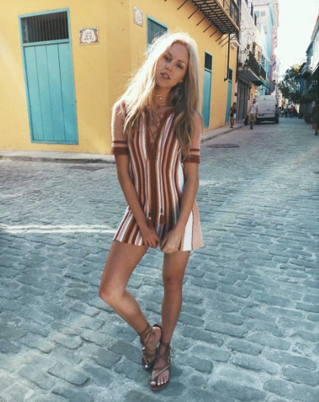 Holiday Dressing: PeaceLoveShea in Cuba