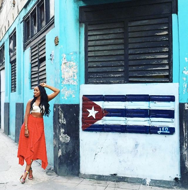 Holiday Dressing: Shiona Turini in Cuba