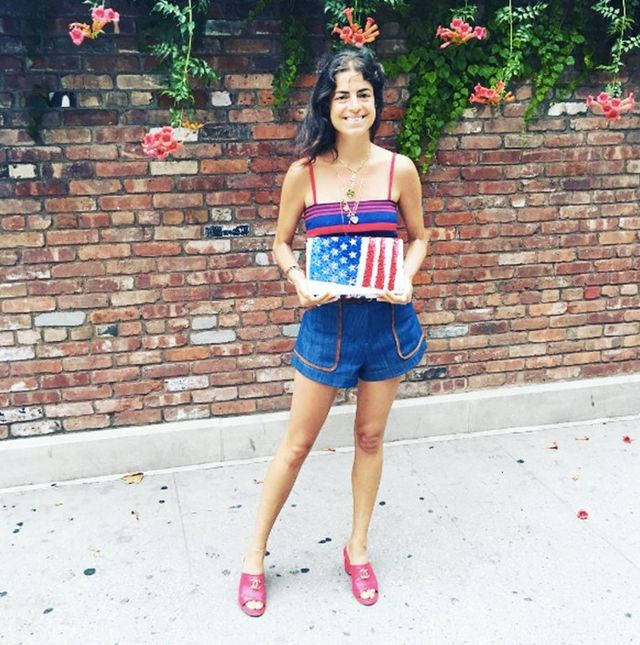 Holiday Dressing: Leandra Medine 4th July style