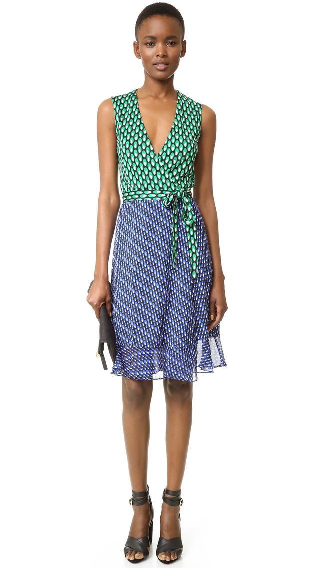 Diane von Furstenberg Bethanie Wrap Dress