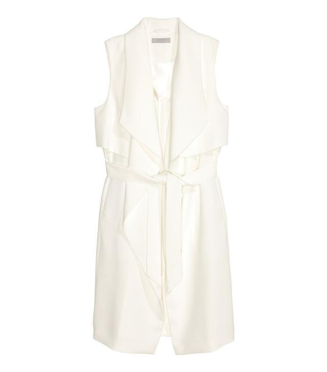 H&M Sleeveless Trenchcoat