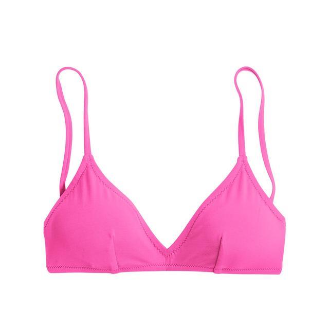 J.Crew Neon French Bikini Top