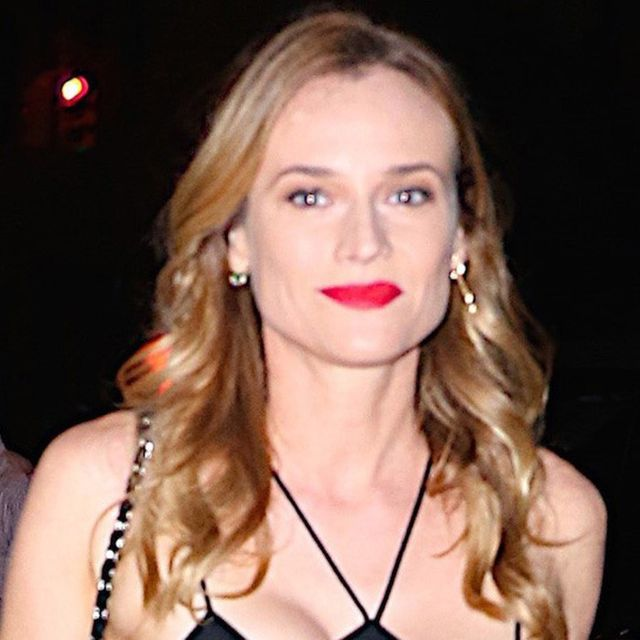 Does Diane Kruger's Top Look Like the Bat Signal or Is It Just Us?