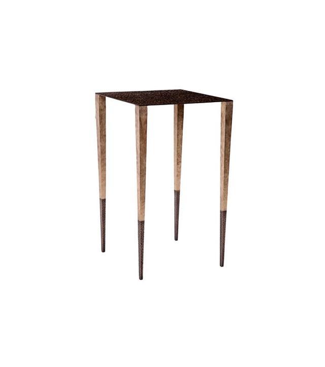 Aurelien Gallet Upaya Hand-Hammered Bronze Side Table