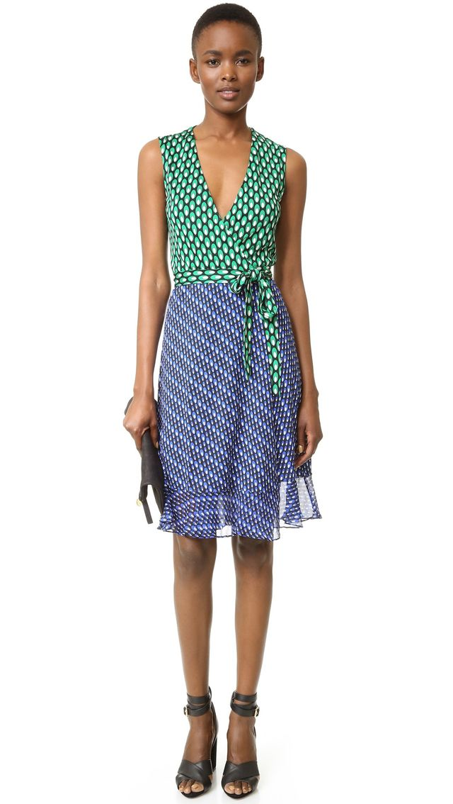 Diane von Furstenberg Bethanie Wrap Dress