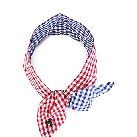 Gingham Knot Headband