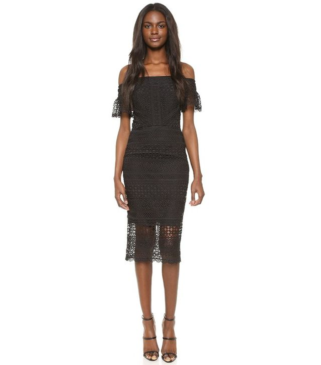 Cynthia Rowley Patchwork Lace Dress